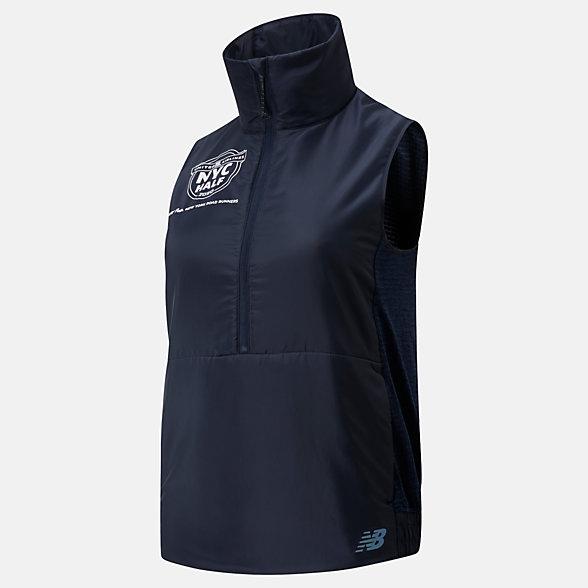 New Balance 2020 United Airlines Half NB Heat Grid Vest, WV01274CECR