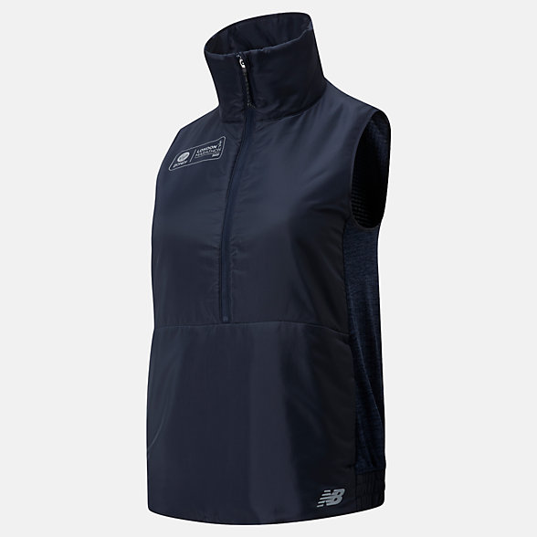 NB London NB Heatgrid Vest, WV01274DECR