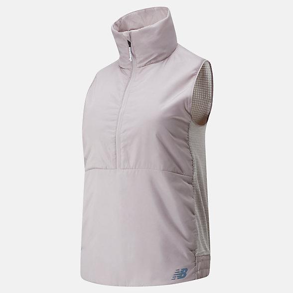 New Balance NB Heatgrid Vest, WV01274LOR