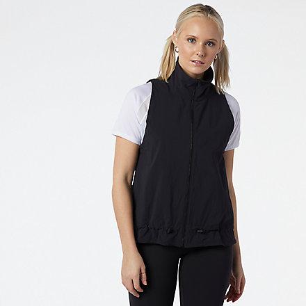 New Balance Transform Cinched Vest, WV11134BK image number null