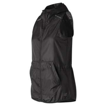 New Balance Windcheater Vest, Black