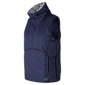 New Balance NB Radiant Heat Half Zip Vest, Pigment