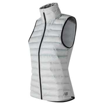 New Balance NB Radiant Heat Bonded Vest, White
