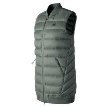 New Balance NB Heat Down 600D Vest, Seda Sage