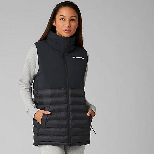 New Balance Sport Style Synth Vest, WV93500BK