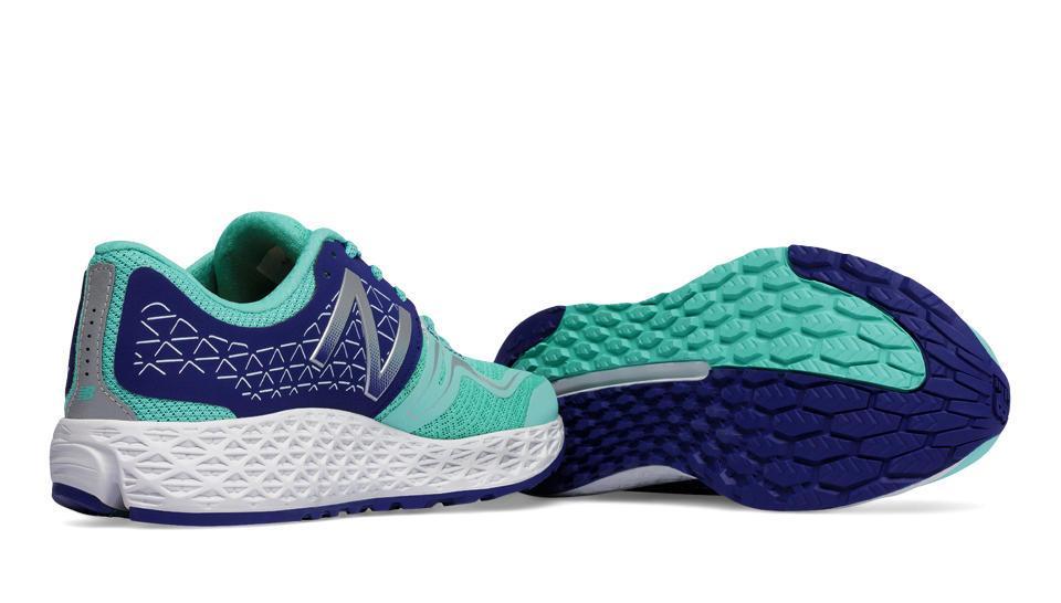 new balance vongo. new balance fresh foam vongo, light blue with navy vongo n