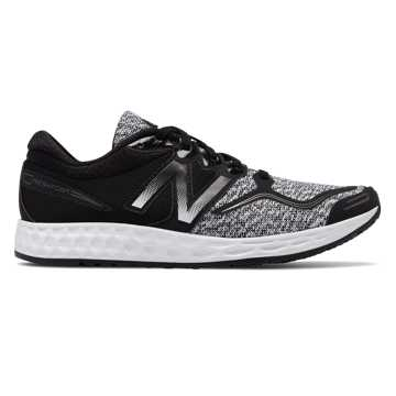 New Balance Fresh Foam VENIZ, Black with White