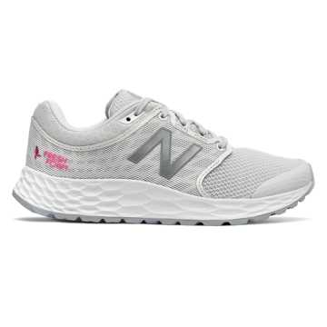 New Balance Fresh Foam 1165 Komen, White with Pink Glo
