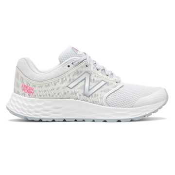 New Balance Fresh Foam 1165, Grey with White & Pink Glo