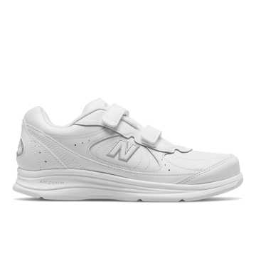 New Balance Women's 577, White Hook and Loop