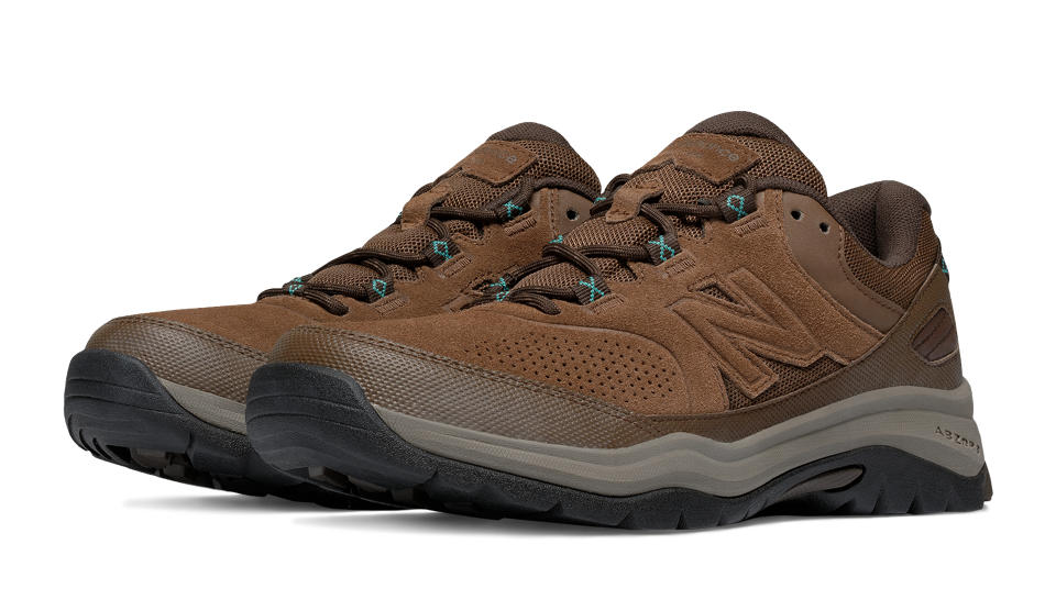 new balance brown walking shoes
