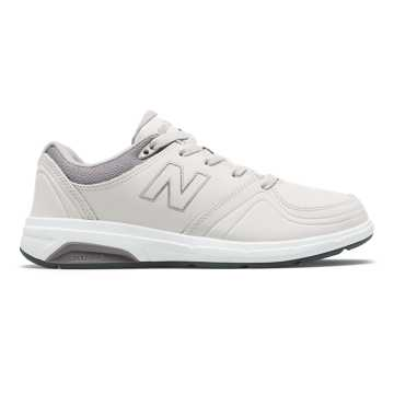 New Balance Women's 813, Off White with Light Grey & Lead