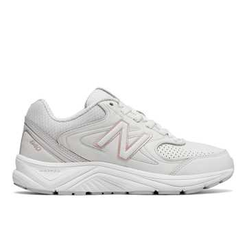 New Balance New Balance 840v2, White with Rose Gold