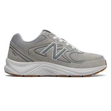 New Balance Suede 840v2, Grey with White