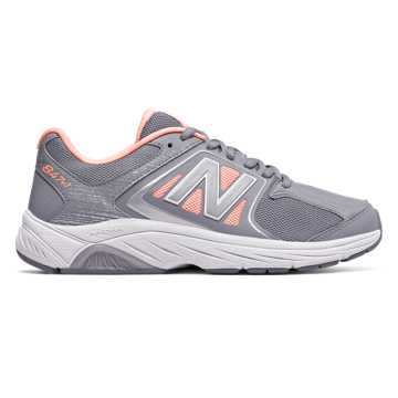 New Balance Womens 847v3, Grey with Luxe Pink