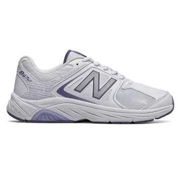 New Balance Womens 847v3, White with Grey