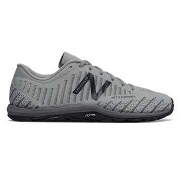 New Balance Minimus 20v7 Trainer, Silver with Gunmetal & Outerspace