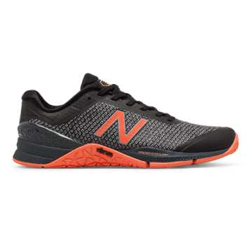 New Balance Minimus 40 Trainer, Black with Thunder & Sunrise