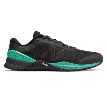New Balance Minimus 40 Trainer, Black with Tidepool