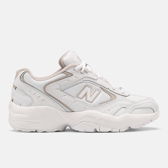 New Balance 452系列女款复古休闲鞋, WX452SG