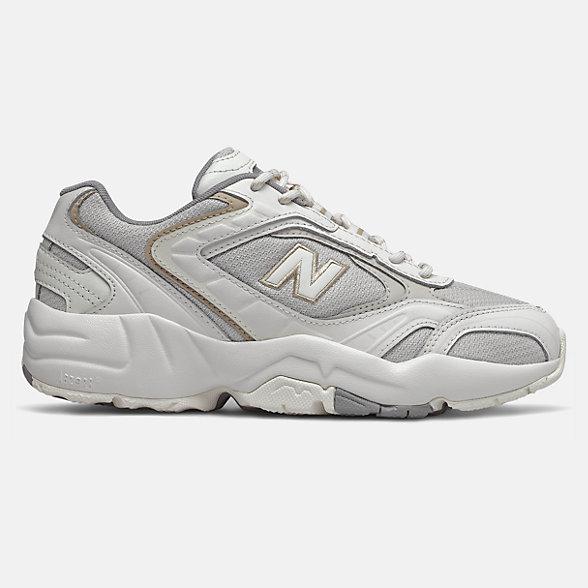 New Balance 452系列女款休闲老爹鞋, WX452XA