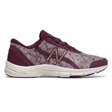 New Balance 711v3 Winter Shimmer, Dark Mulberry with Faded Rose