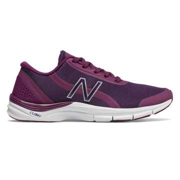 New Balance 711v3 Mesh Trainer, Claret with Wild Indigo