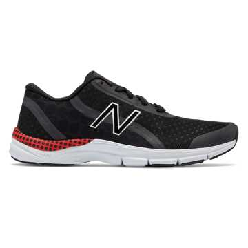 New Balance 711v3 Disney Trainer, Black with Red & White