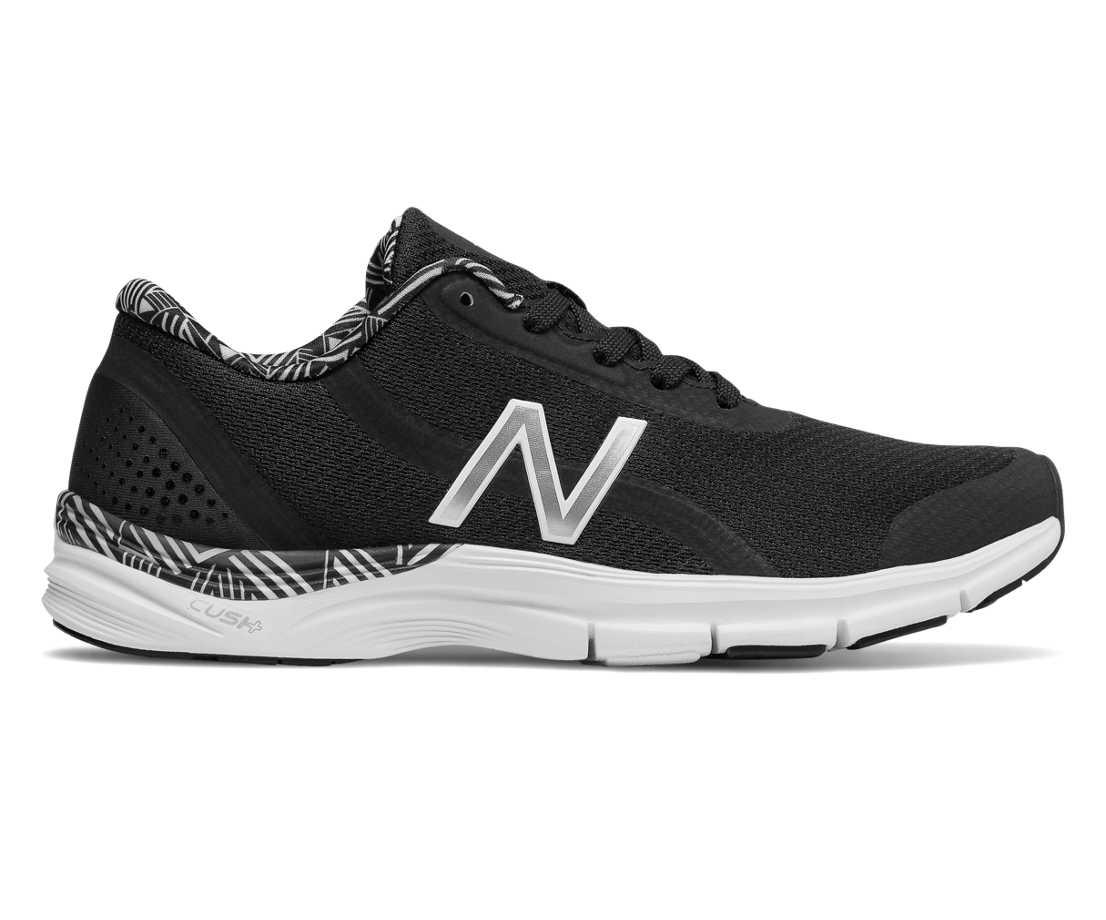 NB 711v3 Mesh Trainer, Black with White