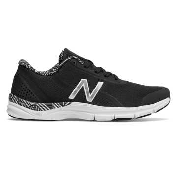 New Balance 711v3 Mesh Trainer, Black with White