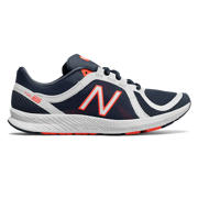 New Balance FuelCore Transform v2 Mesh Trainer, Vintage Indigo with White & Vivid Tangerine