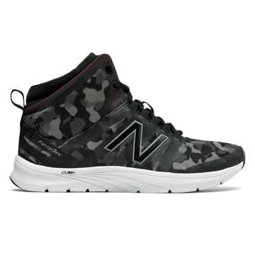 New Balance New Balance 811v2 Mid-Cut Graphic Trainer, Black with Grey