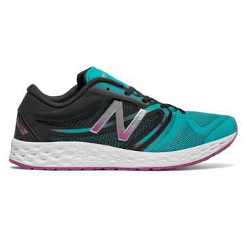 New Balance Fresh Foam 822v3 Trainer, Pisces with Black & Poisonberry