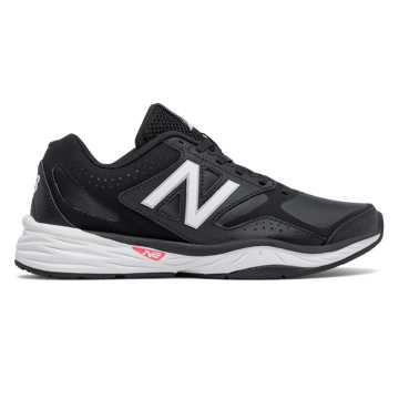 New Balance New Balance 824 Trainer, Black with White