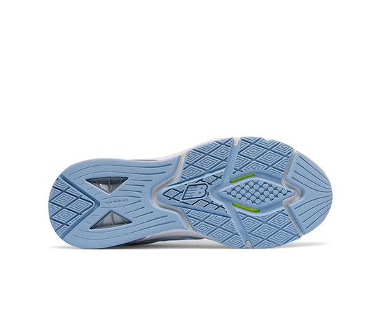 New Balance WX857 Blanc Bleu Chaussures de tennis toutes