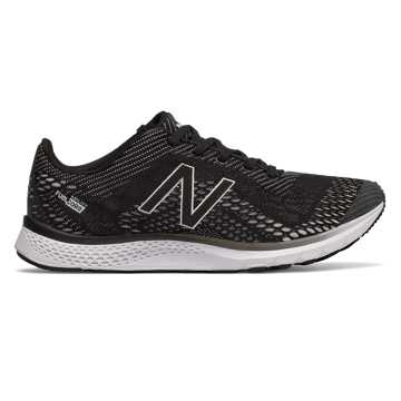 New Balance FuelCore Agility v2 Trainer, Black with White