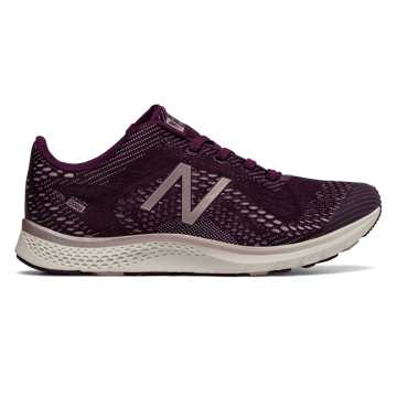 New Balance FuelCore Agility v2 Winter Shimmer, Dark Mulberry with Faded Rose