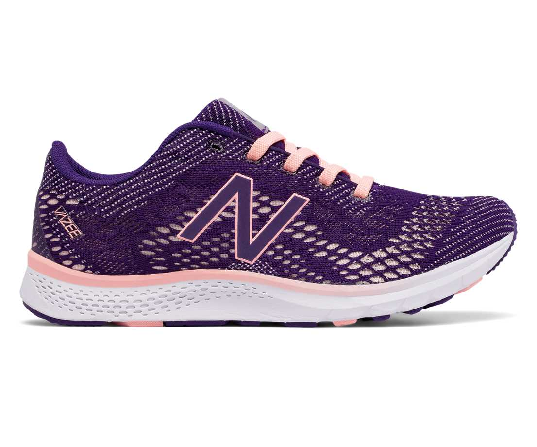 NB Vazee Agility v2 Trainer, Black Plum with Bleached Sunrise