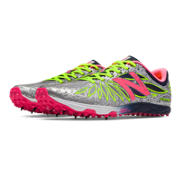 New Balance XC5000v2 Spike, Black with Pink Zing & Hi-Lite