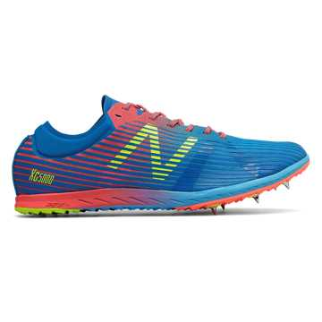 New Balance XC5Kv4, Laser Blue with Dragonfly