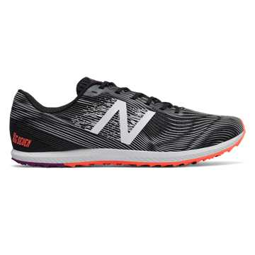 New Balance XC Seven Spikeless, Black with Dragonfly