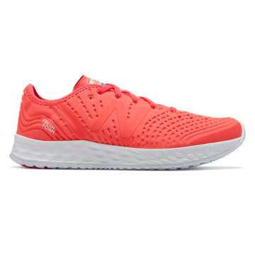 New Balance Fresh Foam Crush, Vivid Coral with White