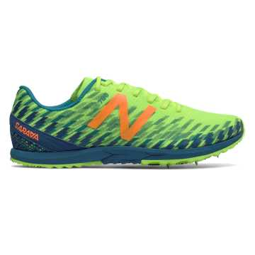 New Balance XC700v5 Spike, Bleached Lime Glo with Moroccan Blue