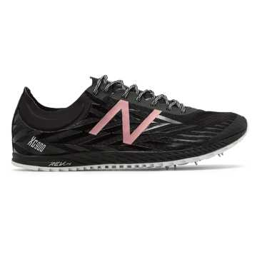 New Balance XC900, Black with Rose Gold