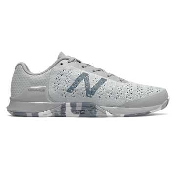 New Balance Minimus Prevail, Light Aluminum with White & Reflection