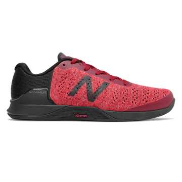 New Balance Minimus Prevail, Neo Crimson with Candy Pink & Black