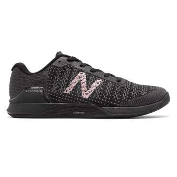 New Balance Minimus Prevail, Black with Magnet & Champagne Metallic