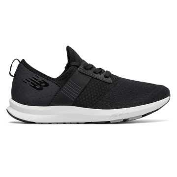 New Balance FuelCore NERGIZE, Black with Grey & White