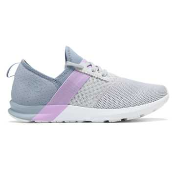 New Balance FuelCore NERGIZE, Light Aluminium with Reflection & Dark Violet Glo