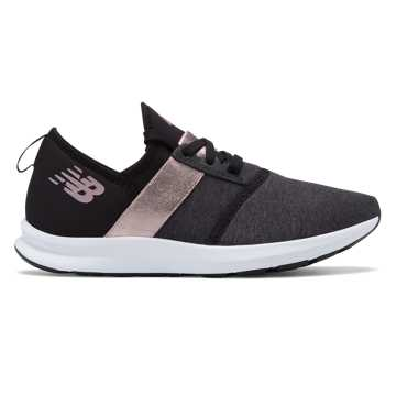 ladies black trainers new balance